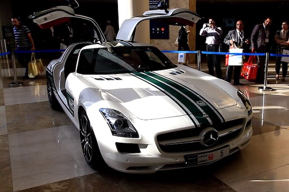 Dubai Police Mercedes Sls